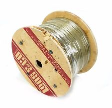 TF12519MD 1/8 7x19 358' Zinc Aircraft Flexible Swaging Cable Wire rope