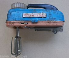 Vintage 1950-60 S' Battery Operated Tin Toy Mixer Mixmaster Japan Children Game