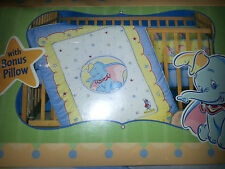 DUMBO Circus BABY CRIB BEDDING SET Comforter Bumper Guard Sheet & Pillow DISNEY