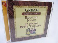 CD Dans La Meme Collection  GRIMM Vol 1 - Blanche Neige, Le Hardi Petit Tailleur