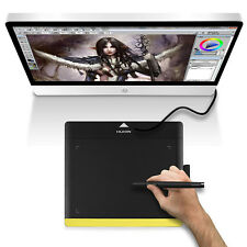 Huion 680TF Graphics Art Drawing Tablet Painting Pad Card USB Rechargeable Pen