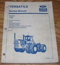 Ford Versatile 1156 Tractor Service Repair Manual 40115610  Vol 2  Holland 1994
