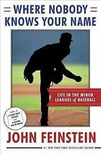 Where Nobody Knows Your Name: Life In the Minor Leagues of Baseball-ExLibrary