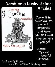 Magical Powerful Good Luck Amulet & Crystal To Help Me Win At Lottery & Gambling