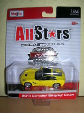 Maisto All Stars 2014 Corvette Stingray Messemodell Spielwarenmesse 2014, 1:64