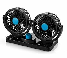 Electric Car Fan - Rotatable 2 Speed & Cooling Air Fan, 12 Volts by AboveTEK
