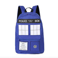 Doctor Who Dr Who Tardis Police Box Backpack Schoolbag