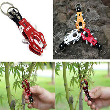 Climb Hook Carabiner Clip Lock Keyring Keychain Ring Chain Multicolor Durable