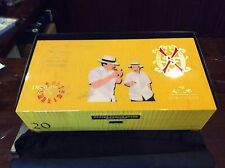 LARGE 2015 LE FUENTE OPUSX 20TH ANNIVERSARY FATHER & SON YELLOW SYCAMORE HUMIDOR