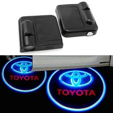 2x Toyota Wireless Car LED door Welcome Projector Logo ghost shadow light
