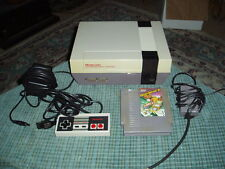 NINTENDO NES Console W/ 1 Controller + 1 Game {Vegas Dream} CLEAN WORKS GREAT !