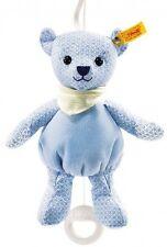 New Steiff Baby Luxury Little Boy Blue Teddy Bear Musical Ideal Christmas 238147