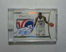 2014-15 Panini Flawless Kevin Durant Auto Sick Game Worn Jersey Patch #/20