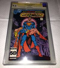 Crisis on Infinite Earths #7 (Oct 1985, DC) CGC/9.6/SS DEATH OF SUPER-GIRL