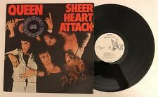 Queen - Sheer Heart Attack - 1974 White Label Promo Vinyl LP 7E-1026 (NM)