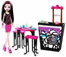 Monster High Beast Bites Cafe Draculaura Doll & Playset - NEW & SEALED!