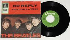 """The Beatles No Reply Eight Days a Week 7"""" VINILE Odeon GERMANY 1964 RARE"""