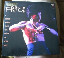 """PRINCE 12"""" Vinyl I Could Never Take The Place Of Your Man Hot Thing Music 1987"""
