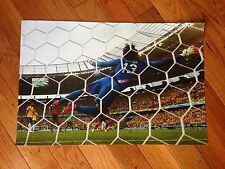 "Team Mexico Guillermo Ochoa 11.5""x 17"" Poster 2014 World Cup Vs Brazil"