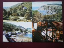 POSTCARD DEVON ILFRACOMBE - LEE MANOR HOTEL & RESTAURANT