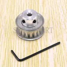 XL Type XL17T Aluminum Timing Belt Pulley 17 Teeth 6.35mm Bore for Stepper Motor