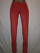 New MET Womans Pink Super Soft Skinny Jeans Size 28 Made in Italy
