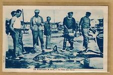 Cpa La Couronne - la pêche aux thons cliché rare rp127