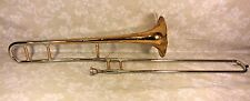 Vintage Olds Recording Trombone in Case w/ Stand and Mouthpiece