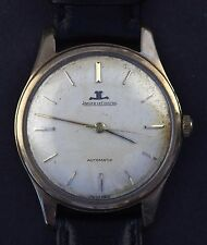 Jaeger LeCoultre 9ct Solid Gold Automatic Vintage K880 1960's Watch Mens Gents