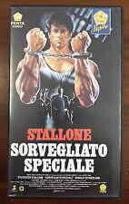 FILM VHS SORVEGLIATO SPECIALE SYLVESTER STALLONE