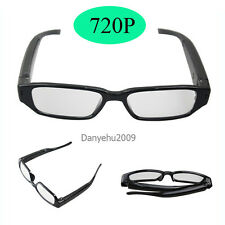 Mini 720P Spy Camera Glasses Hidden Eyewear DVR Video Recorder Cam Camcorder