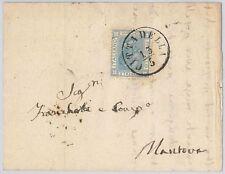 ITALIA REGNO storia postale: Sas L26 su BUSTA annullo LOMBARDO VENTO Cittadella