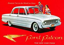 MAGNET Automobile Advertisement Photo Magnet FORD Falcon 1960
