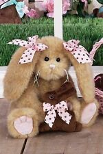 "Bearington Bear BITSY B. SWEET 10"" chocolate scented  Girl Bunny Rabbit"