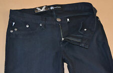 NEW ROCK & REPUBLIC WOMENS JEAN PANTS BLACK FLARE 29 X 36 FREE PRIORITY SHIPPING