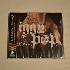 IGGY POP - Skull ring - 2003 FIRST PRESS CD JAPAN