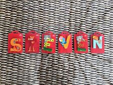 Sevi : Wooden Animal Letters  - STEVEN