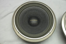 "2 Excellent MARANTZ SP1000 10"" Woofer Speaker 5G34C (8 Ohm) Tested w Trim Ring"