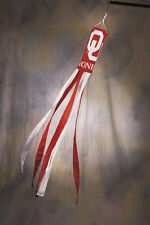 "Oklahoma Sooners 60"" Polyester Wind Sock Porch Patio Deck Decor Football NCAA OU"