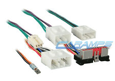 CAR STEREO CD PLAYER WIRING HARNESS WIRE ADAPTER PLUG FOR INSTALLING A NEW RADIO