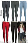 NEW WOMENS LADIES NAVY DENIM JEGGINGS LEGGINGS SKINNY JEANS SIZE 6 8 10 12 14 16
