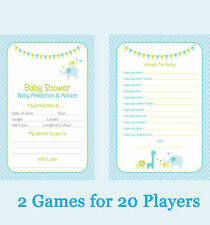 2 Games Baby predictions & Wishes for baby For 20 PLAYERS
