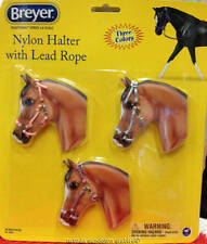 Breyer Collectable Horse Accessories Set of Three Nylon Halter and Lead Rope