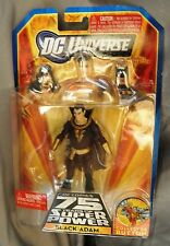 DC Universe DC comics 75 years of Super Power Black Adam w/button