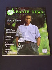 EARTH NEWS Magazine September 1992 CHEVY CHASE Taking a Serious Stand