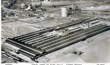 Corby Steel Works Tube Mills Aerial View Advertising unused RP old pc
