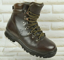 HAGLOFS Gore-Tex Leather Womens Hiking Walking Boots Vibram Size 4 UK 37 EU