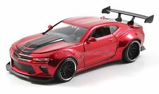 JADA 1/24 BIG TIME MUSCLE 2016 CHEVROLET CAMARO SS WIDE BODY GT 98140-DP RED