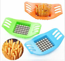 CES Potatoes Cutter Cut into Strip French Fries Tool Kitchen Gadget Color Random