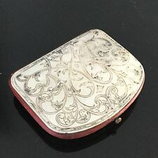 PORTE MONNAIE XIXè NACRE Empire Georgian Coin PURSE MOTHER OF PEARL Early 19thC